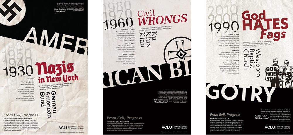 American Bigotry Posters