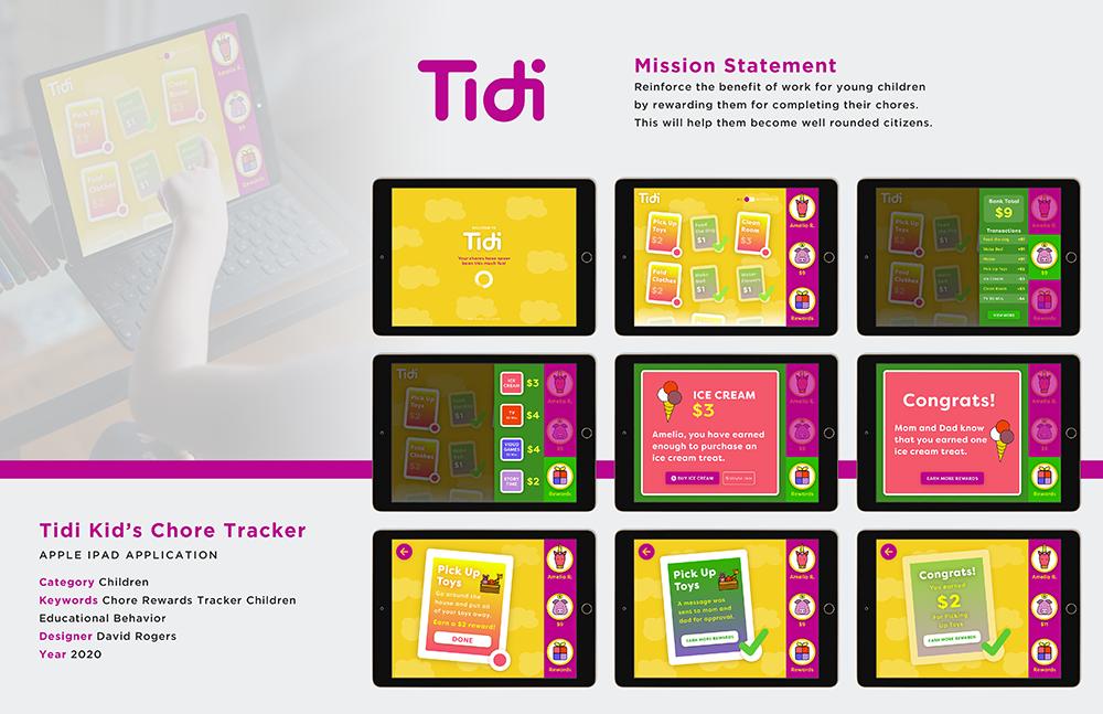 Tidi Kid's Chore Tracker