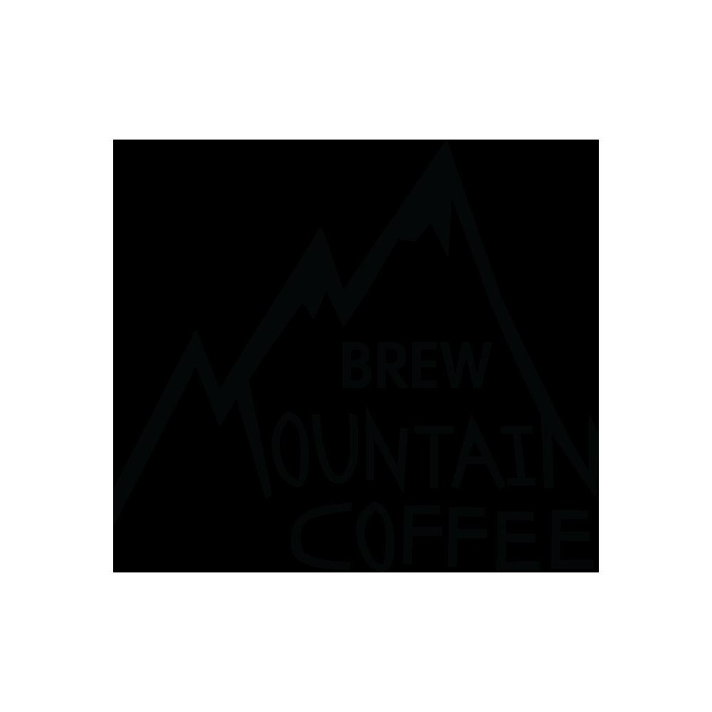 Brew Mountain Coffee Black and White